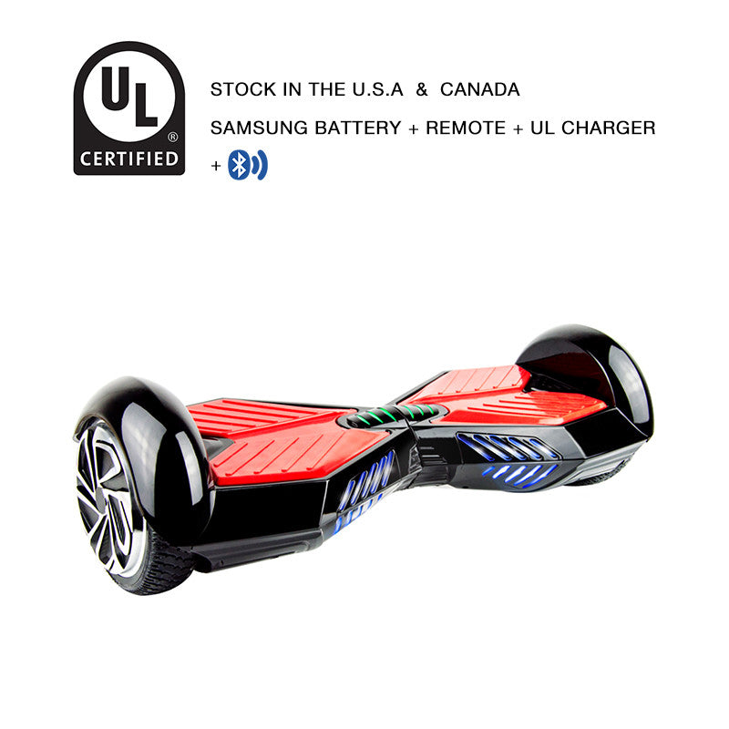 black lamborghini hoverboard bluetooth