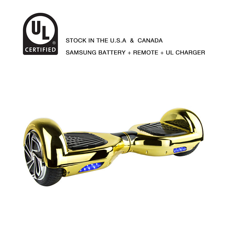 6.5 inch hoverboard chrome gold