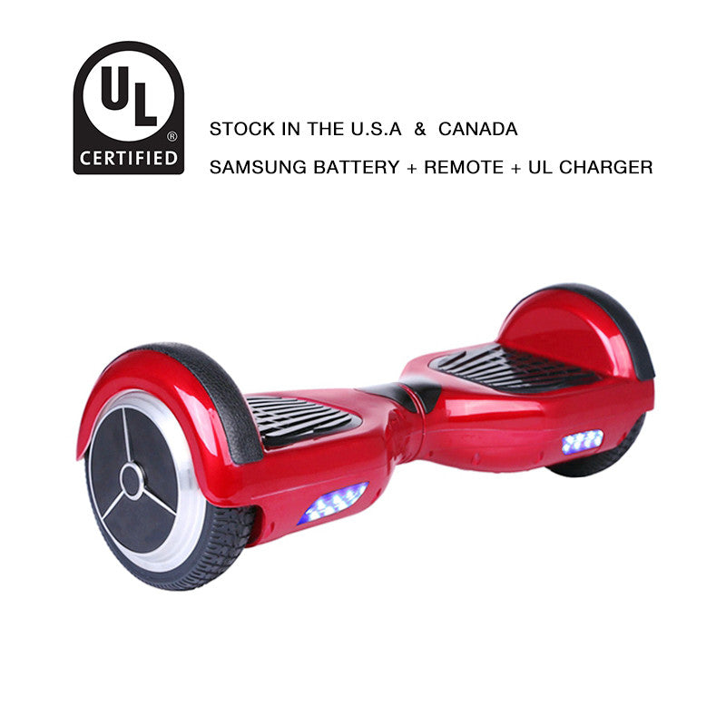 6.5 inch hoverboard red