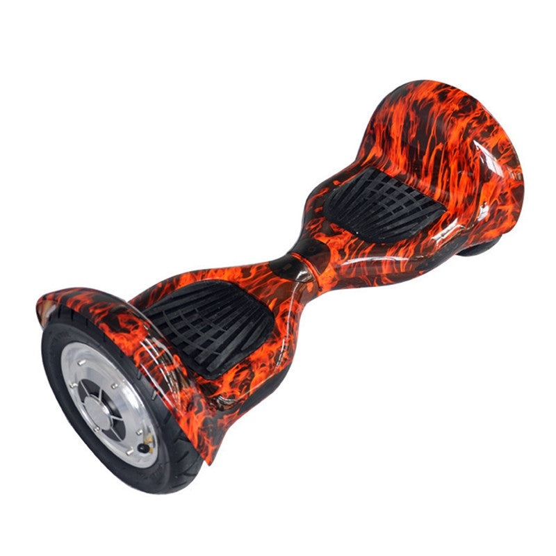 Pioneer Self Balancing Scooter 10 Inch Hoverboard Flame Red Pattern - Smart Balance Board