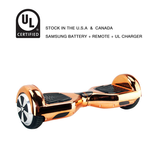 6.5 inch hoverboard rose gold