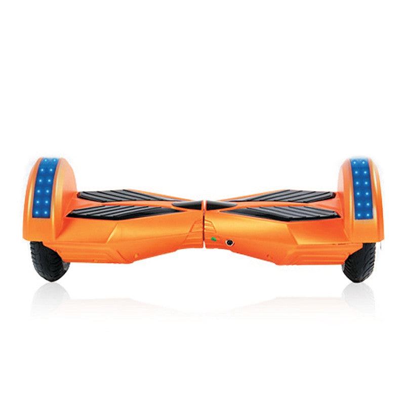8 Inch APP Smart Balance wheel Bluetooth Orange Hoverboard With LED On Wheels - Smart Balance Board