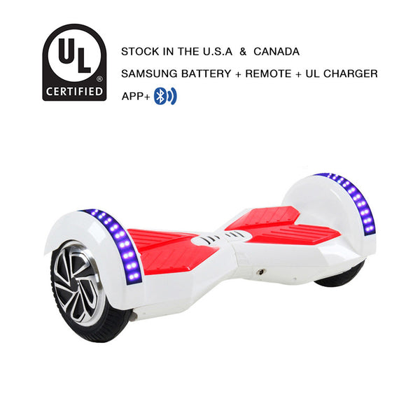 app smart balance wheel white/red
