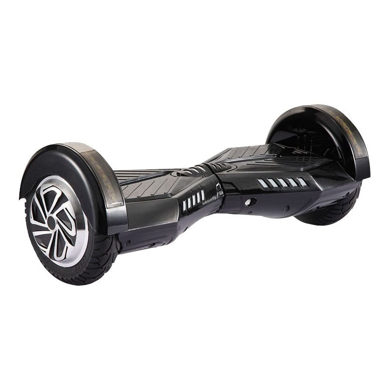 8 Inch APP Smart Balance wheel Bluetooth Black Hoverboard With LED On Wheels