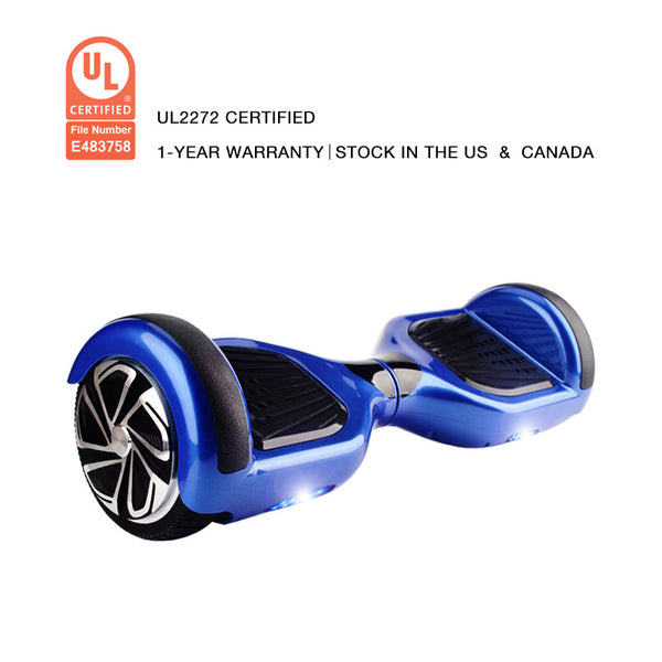 UL2272 Certification Hoverboard 6.5 Inch Smart Balance Wheel Blue - Smart Balance Board