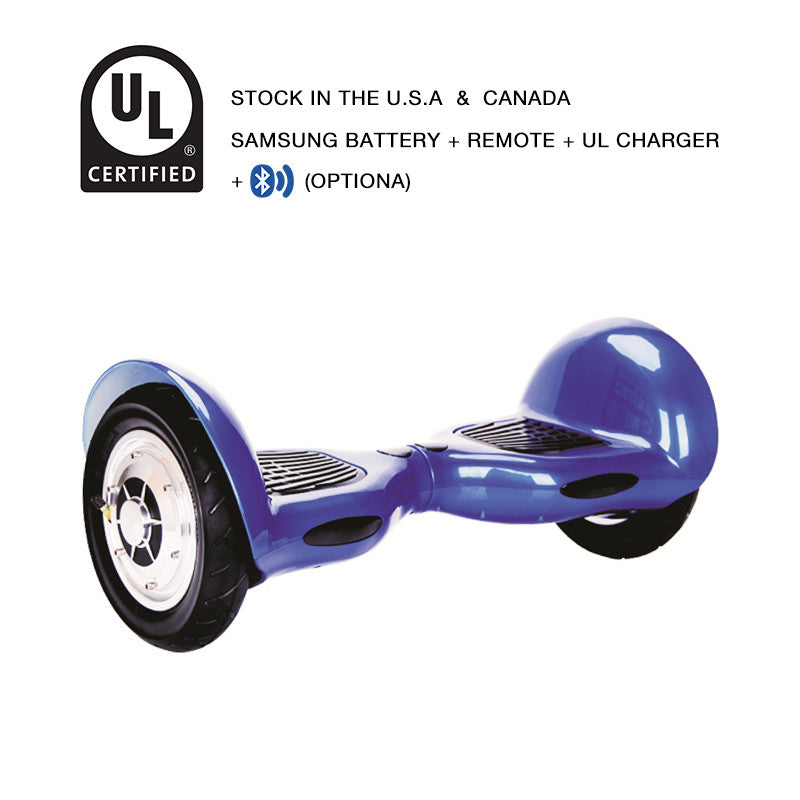 10 inch hoverboard blue