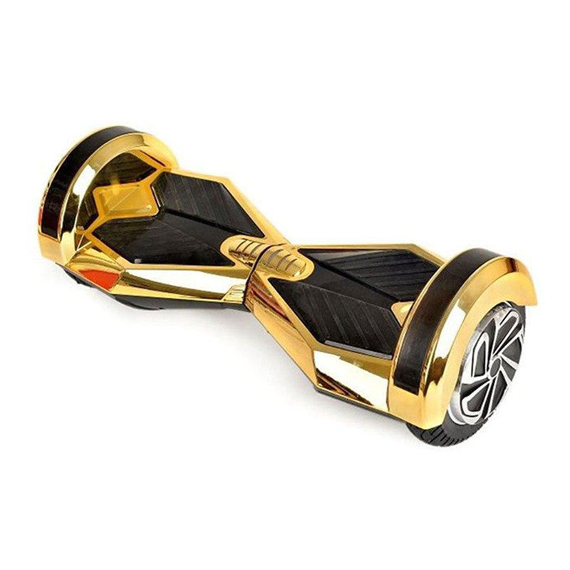 8 inch hoverboard chrome gold