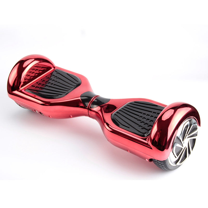Classic Self Balancing Scooter 6.5 Inch Chrome Red - Smart Balance Board