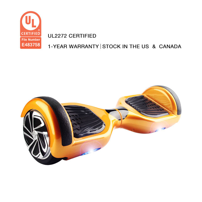 ul2272 certification hoverboard gold