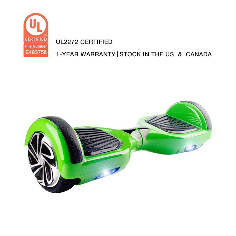 ul2272 certification hoverboard green