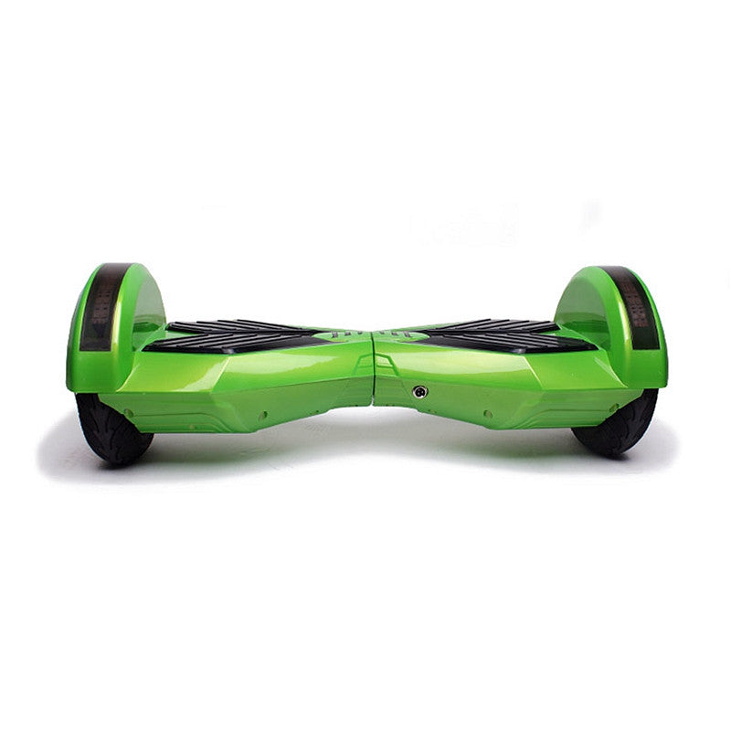 8 Inch APP Smart Balance wheel Bluetooth Hover Board Green With LED On Wheels - Smart Balance Board