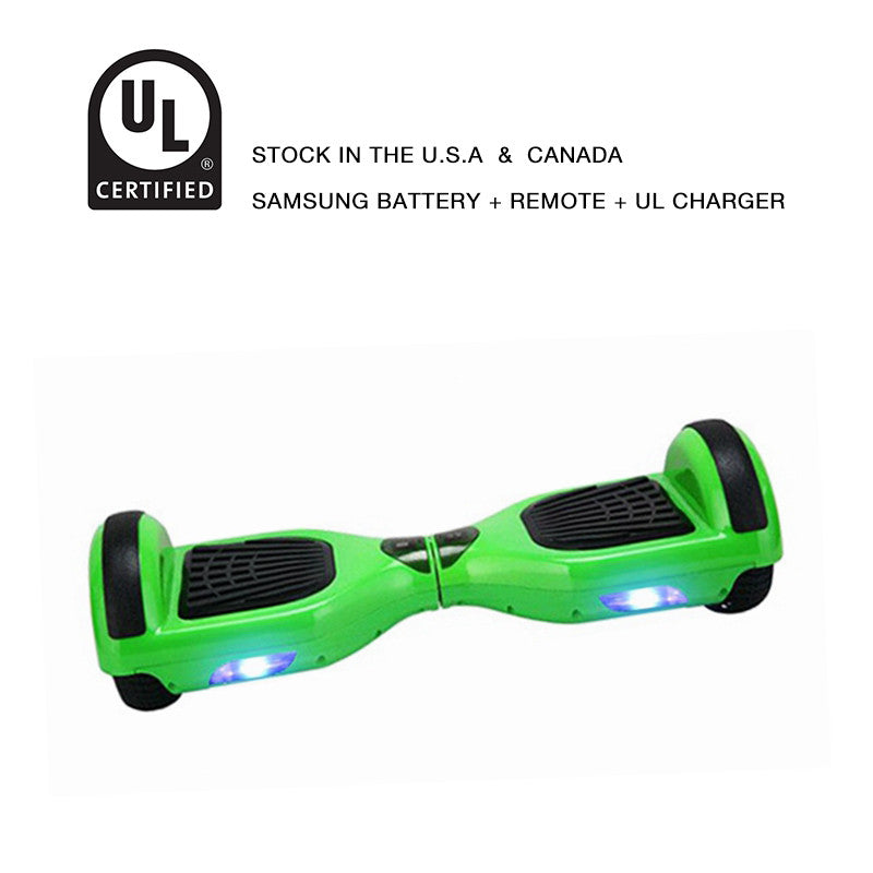 6.5 inch hoverboard green