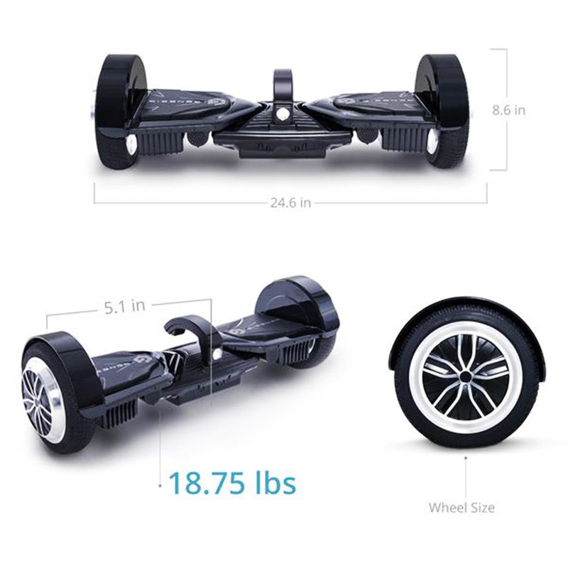 hoverboard size