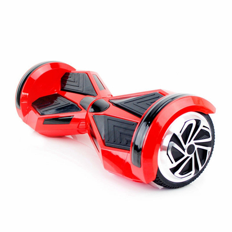 8 Inch APP Smart Balance wheel Bluetooth Hoverboard Red With LED Lights On Wheels - Smart Balance Board