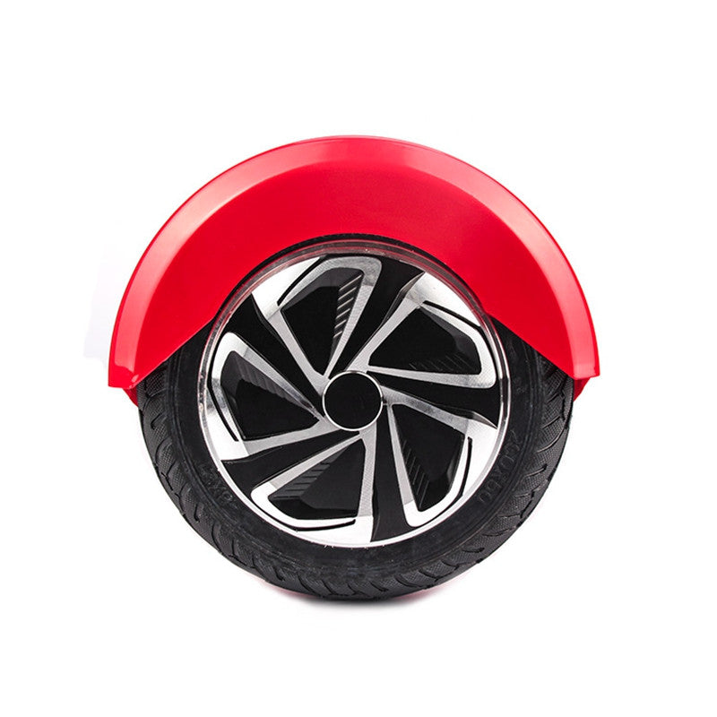 8 Inch APP Smart Balance wheel Bluetooth Hoverboard Red With LED Lights On Wheels