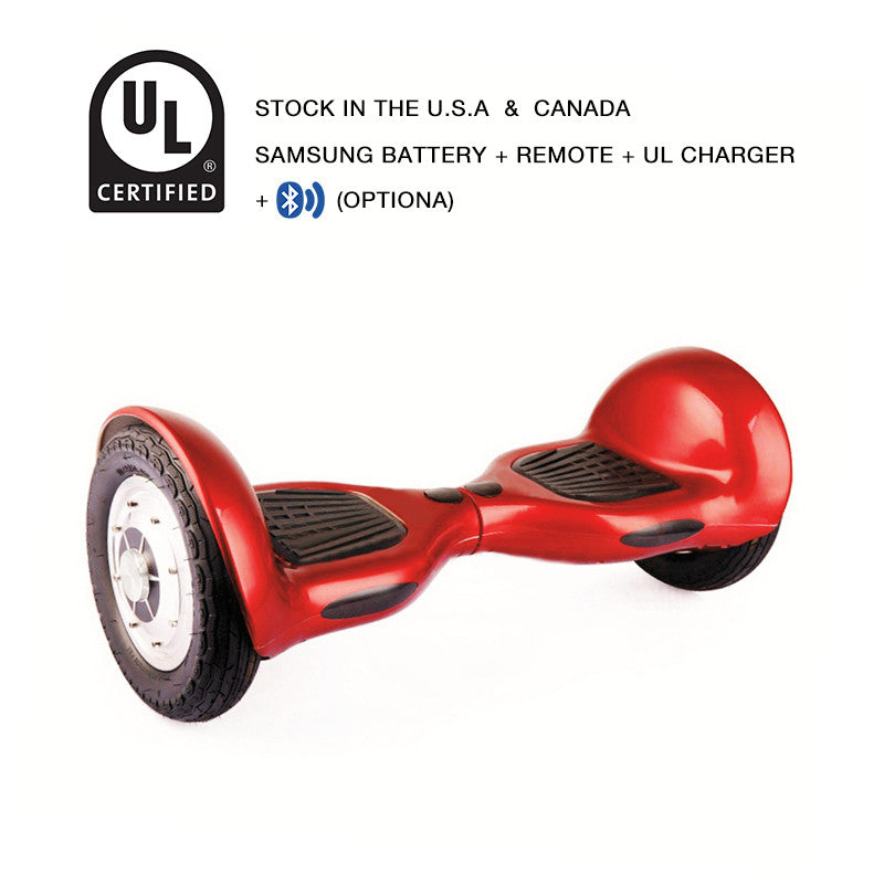 10 inch hoverboard red