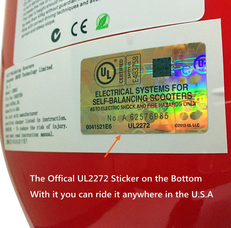 ul certification sticker