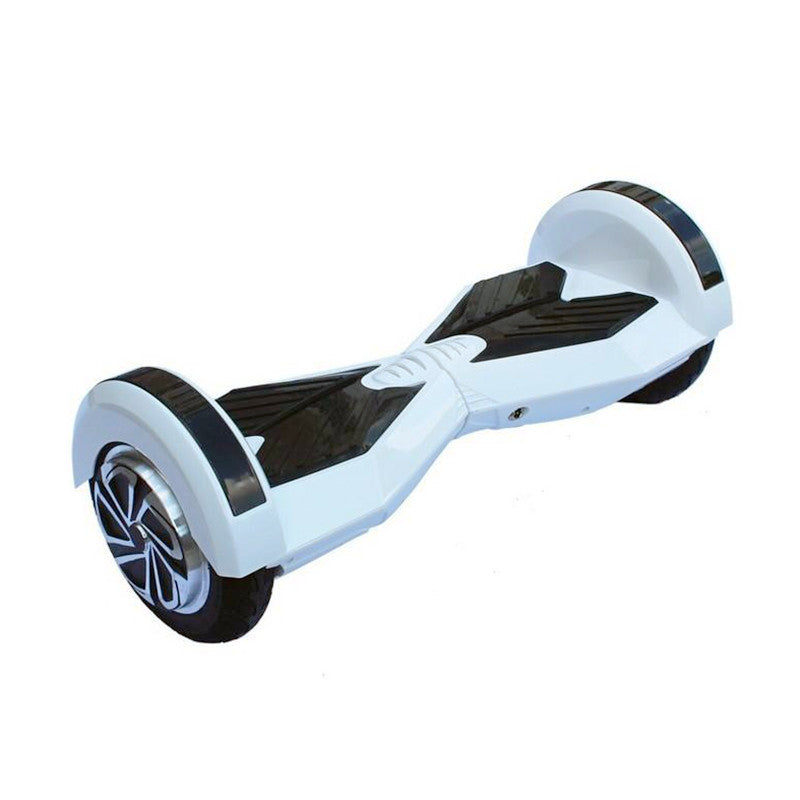 8 Inch APP Smart Balance wheel Bluetooth White Hoverboard With Led On Wheels - Smart Balance Board