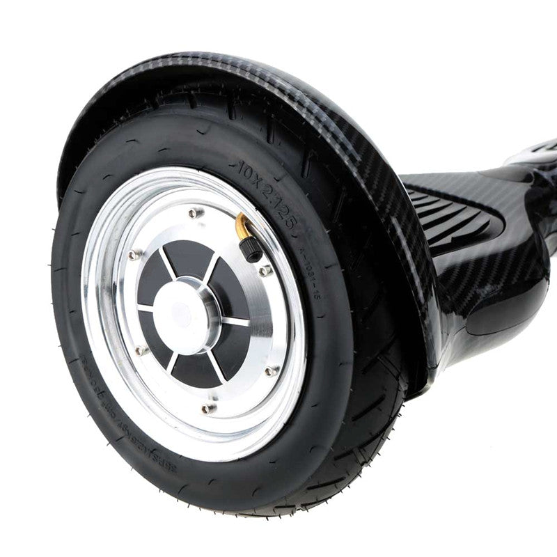 Pioneer Self Balancing Scooter 10 Inch Hoverboard  Carbon Fiber Black - Smart Balance Board