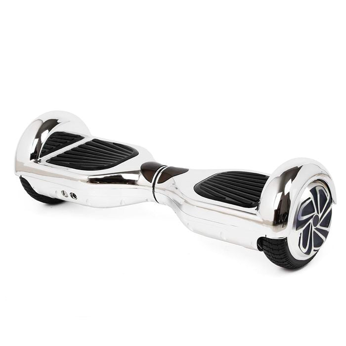 Classic Self Balancing Scooter 6.5 Inch Chrome Silver