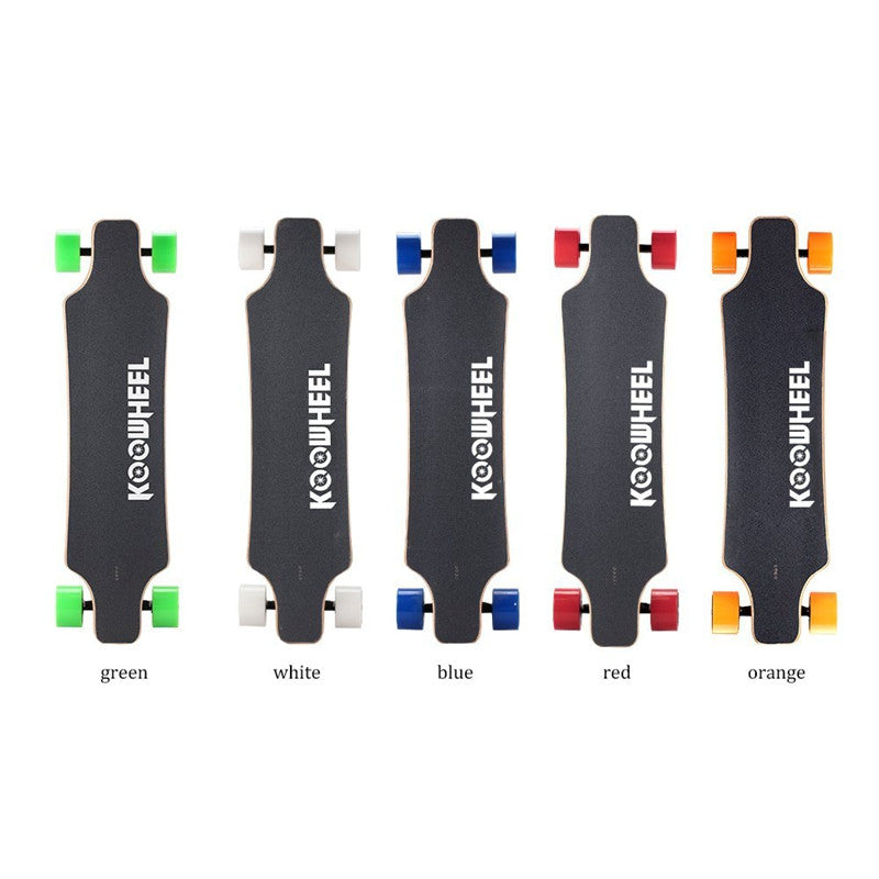 5 colors longboard