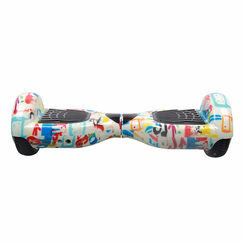 Classic Self Balancing Scooter 6.5 Inch Graffiti hoverboard with UL charger - Smart Balance Board