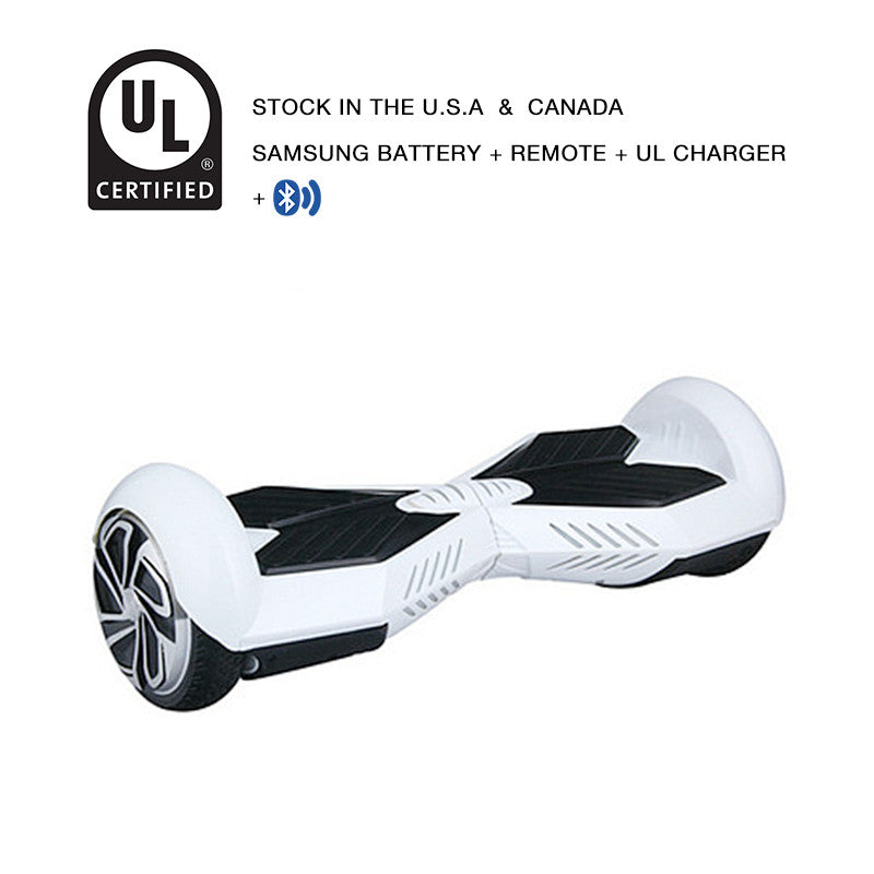 bluetooth lamborghini hoverboard white/black