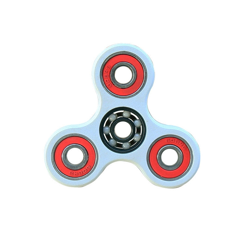 Tri Fidget Hand Spinner EDC Focus Fidget Toy With Fast Smooth Bearings