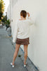 Sweet Talker Cropped Sweater