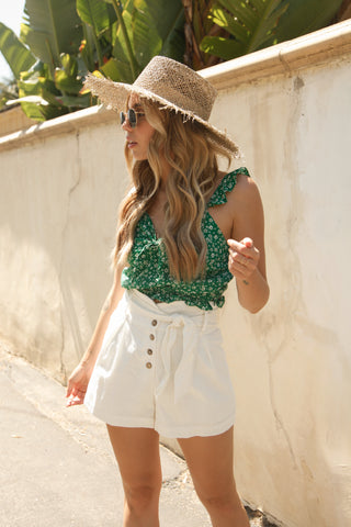Summer Days Gingham Romper
