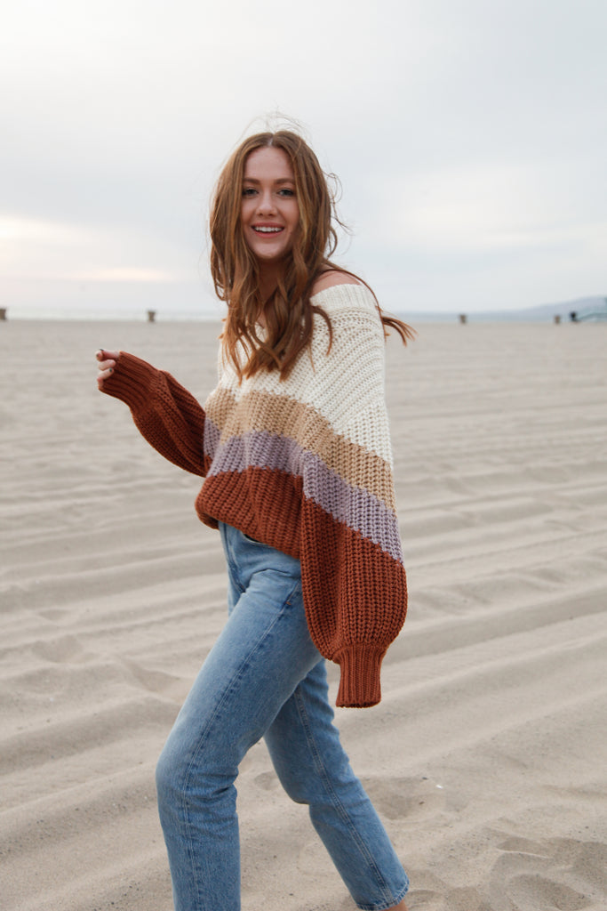 Santa Fe Striped Sweater