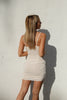 Mila Cream Mini Dress