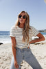Take It Easy Striped Tee