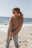 Daydreamer Cropped Fuzzy Sweater