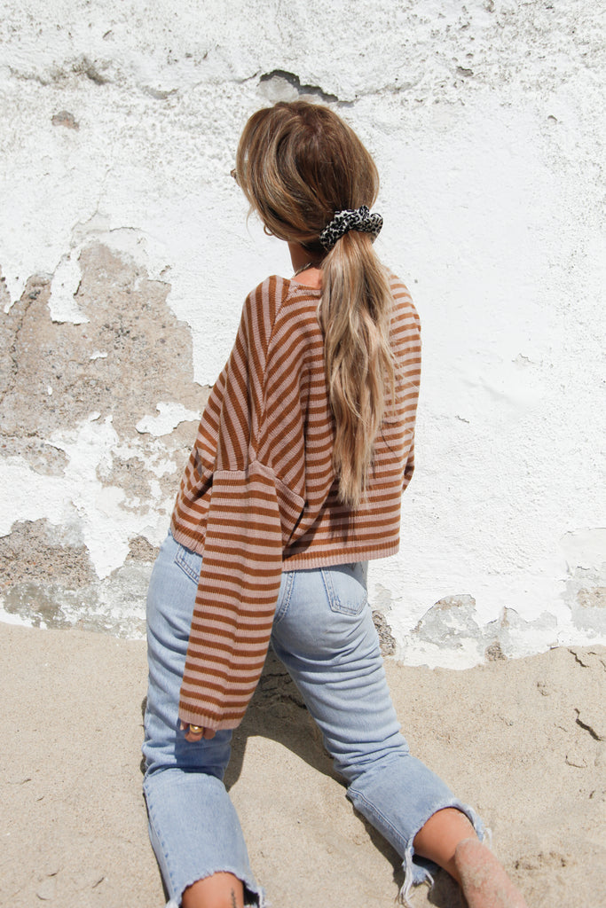 Lena Striped Sweater