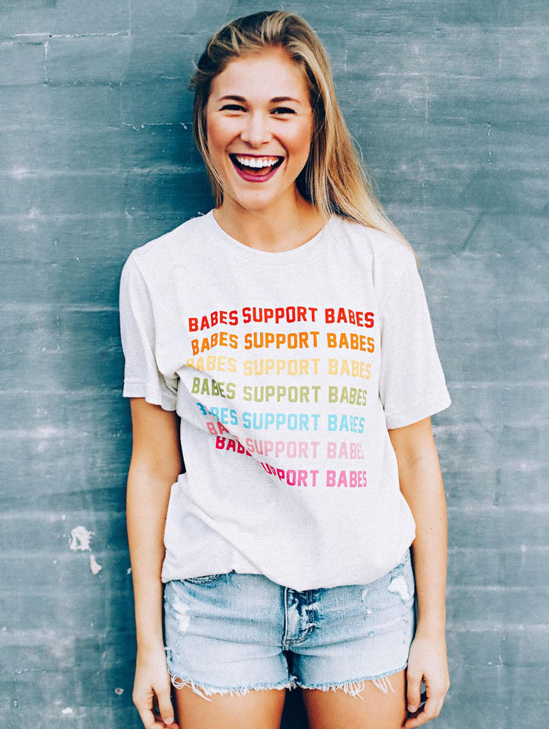 F+S: BABES SUPPORT BABES RAINBOW