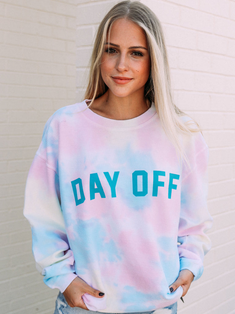 PREORDER: DAY OFF TIE DYE TEAL