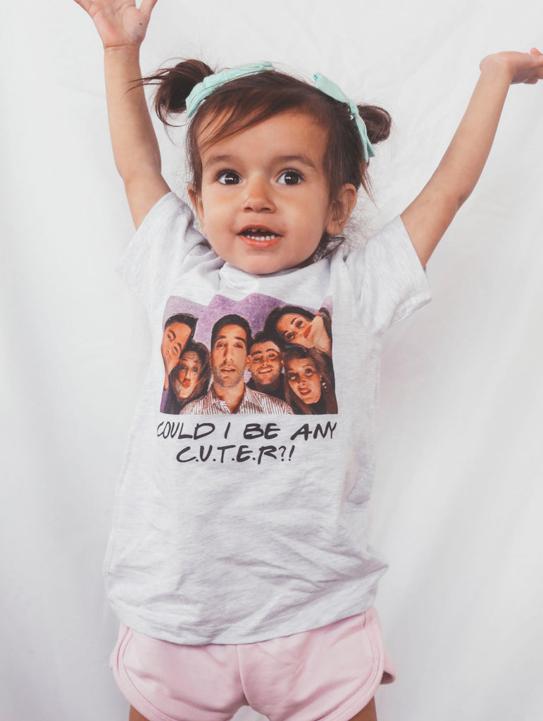 F+S: COULD I BE ANY CUTER TODDLER TEE