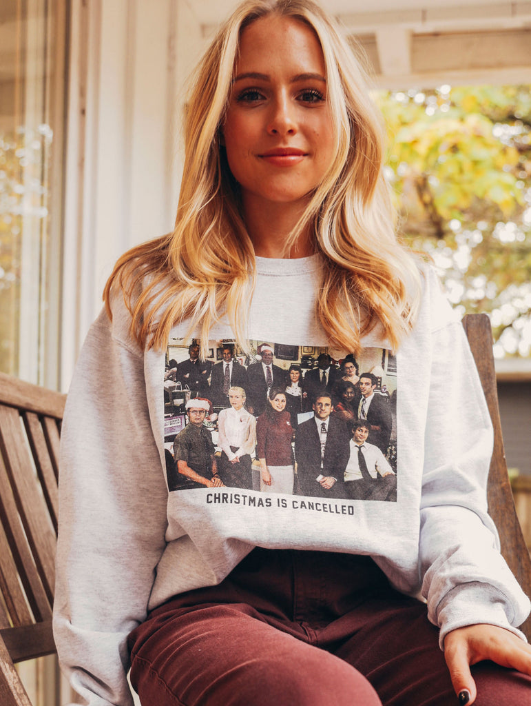 F+S: CHRISTMAS IS CANCELLED SWEATSHIRT
