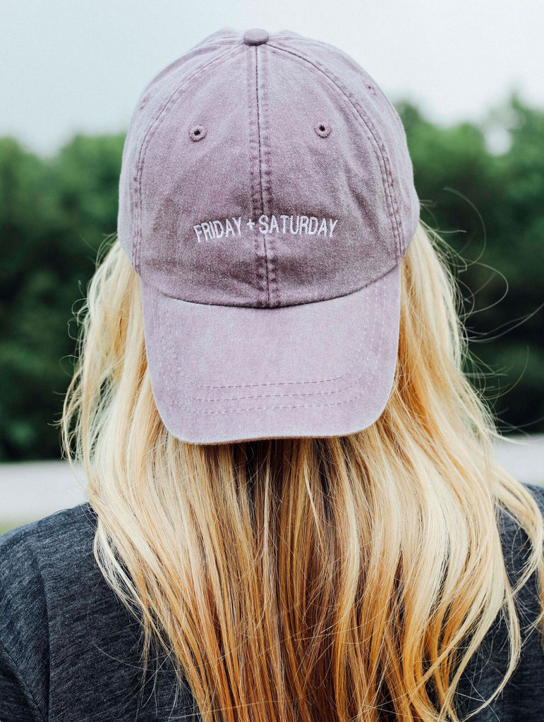 F+S: FRIDAY + SATURDAY LOGO HAT