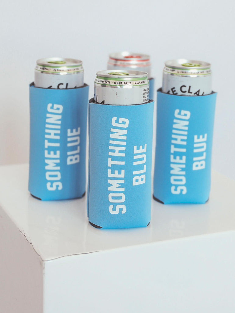 "F+S: TALL DRINK SLEEVE ""SOMETHING BLUE"""