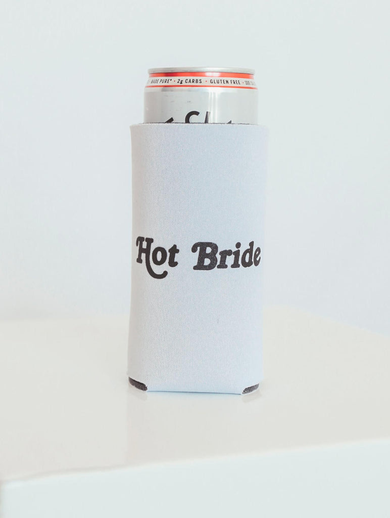 "F+S: TALL DRINK SLEEVE ""HOT BRIDE"""