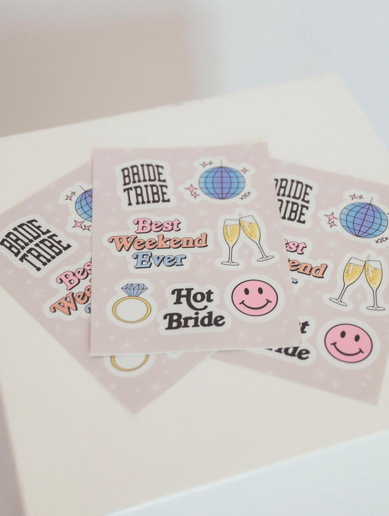 F+S: BRIDAL STICKER SHEET 6 PACK