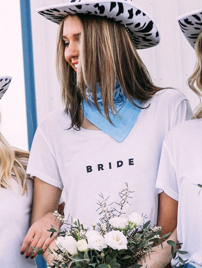 F+S: BRIDE // GETTING HITCHED