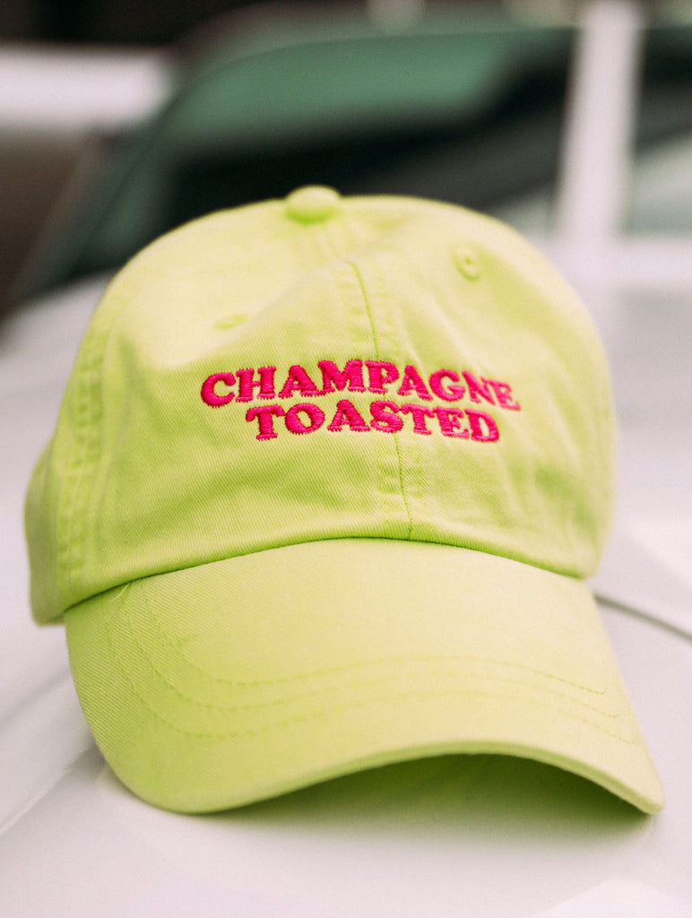 F+S: CHAMPAGNE TOASTED NEON HAT