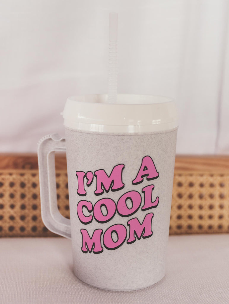 NEW ASH COOL MOM INSULATED MUG 34 OZ.