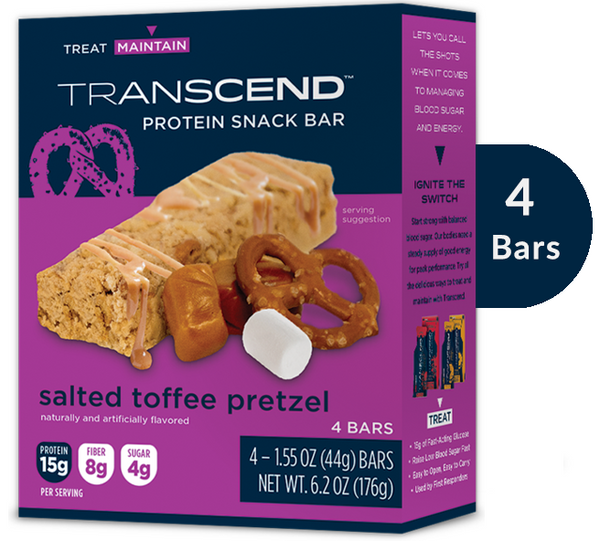 NEW Protein Snack Bars - Salted Toffee Pretzel (4 pack)