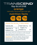 Transcend 15g Glucose Gel - Orange & Strawberry - 40 Pouches