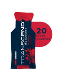 Transcend 15g Glucose Gel - Strawberry - 20 Pouches