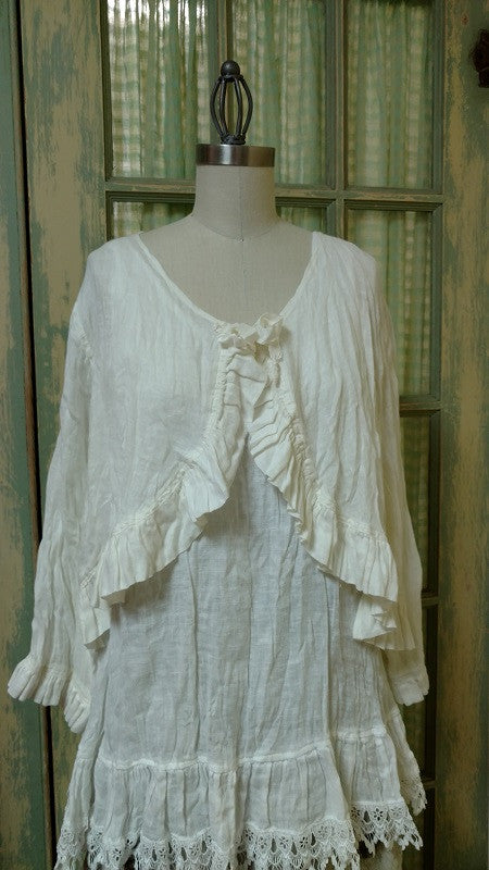 Bed Jacket Linen, USA